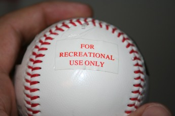 For Recreational Use Only