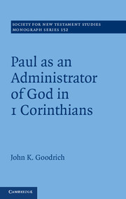 Goodrich, Administrator of God